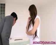 Oily Hitomi Tanaka Takes Bathroom Pounding - scene 2