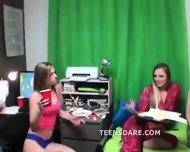 Teen Girl Pajama Party Turns To Sex - scene 1