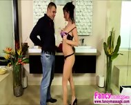 Brunette Alektra Keeps It Professional With Her Bfs Father In The Spa - scene 1