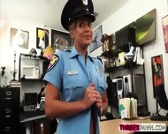 Big Tits Cop Chick Grabs And Sucks A Dick In Exchange For Cash - scene 3