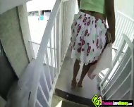 Nerdy Teen Isabelle De Santos Sucks Dick And Have Sex For Money - scene 1