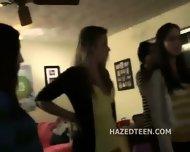 Daisy Chain Of Naked Teen Lesbian Girls - scene 9