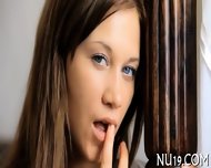 Neat Teen Girl Gets A Load - scene 2