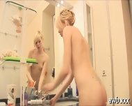 Solo Girl Screws Her Wet Gash - scene 9