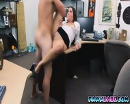 Pawnman Was Able To Bang This Lady Who Has A Natural Tits And An Amazing Ass - scene 10
