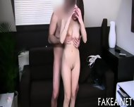 Creampie On Sweet Babes Tits - scene 7