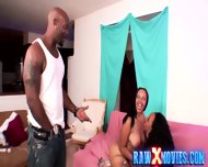 Bisex Ebony Chicks Fucking Black Guy - scene 5