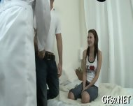 Teen Gets Her Cunt Checked - scene 4