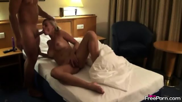 Ramming Horny Wife In The Hotel Room