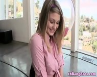 Young Newbie Blonde Jizzed