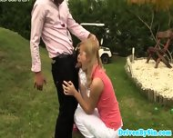 Classy Euro Babes Love Cumswap Outdoors