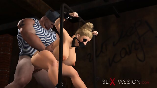The Russians are coming! Young blonde police officer in restraints gets fucked hard by russian soldiers