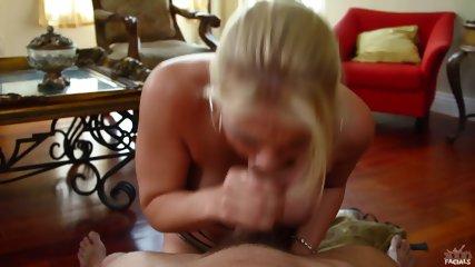 Busty Lady Sucks Dick - scene 9