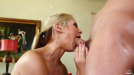 Busty Lady Sucks Dick - scene 11