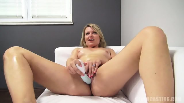 Dominika Plays With Dildo And Dick