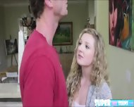 Funsize Blonde Willow Gets Fucked By Her Boyfriends Step Dad