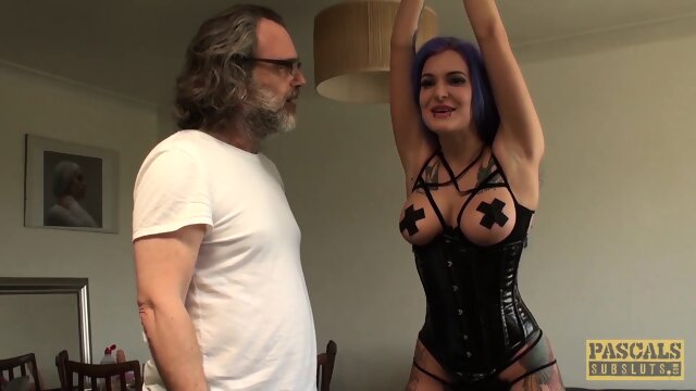 PASCALSSUBSLUTS – Big tits Alexxa Vice Tied And Anal Drilled