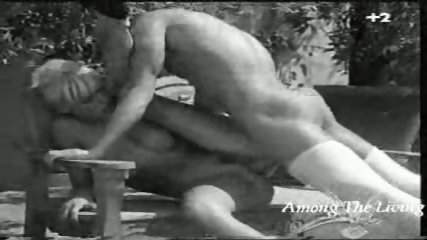 Black and white Hard Rock Porn - scene 8