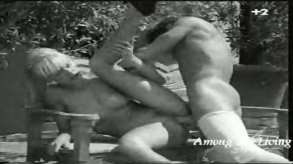 Black and white Hard Rock Porn - scene 9