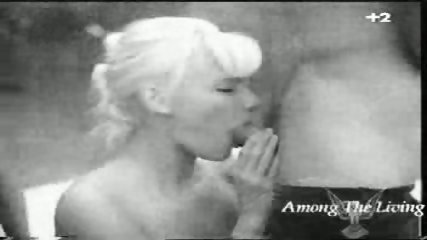 Black and white Hard Rock Porn - scene 1