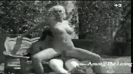 Black and white Hard Rock Porn - scene 2