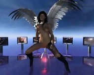 Angel of Dreams intro - scene 10