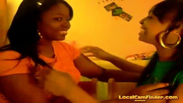Black girls kissing