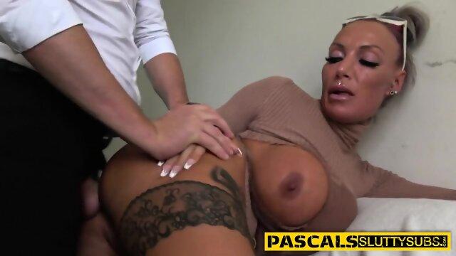 Kinky skank gets ass railed