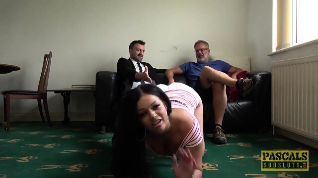 PASCALSSUBSLUTS – Chubby Catalia Valentine Roughly Fucked