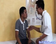 Asian Doctor Fingers And Rims Twinks Asshole - scene 1