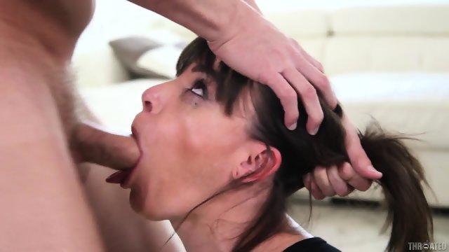 Cum Strings In Her Throat