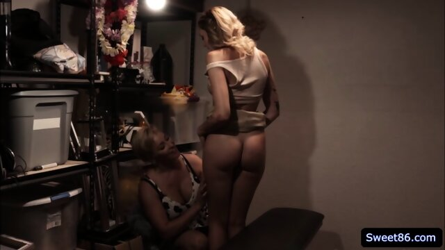 Ryan Keely and Charlotte Sins lesbian sex in the closet