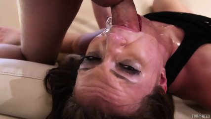 Redhead Gets Rammed Hard In Face