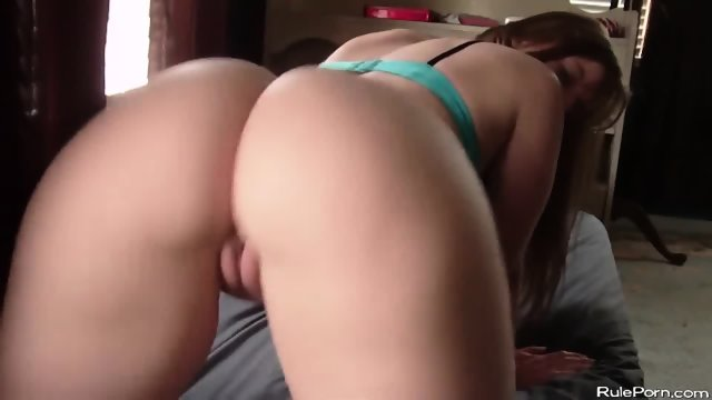 Brunette Big Booty Shaking