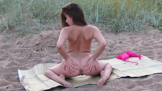 Body Presentation At The Beach
