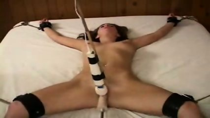 Bondage Girl forced to Orgasm - scene 2
