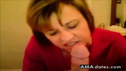 Amateur Ehefrau Cum Eating