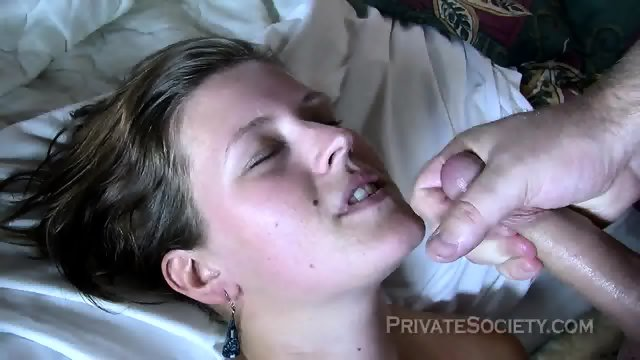 Natural Girlfriend Rides Other Guy's Dick