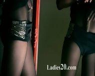 Mysterious Beauty Masturbates With Dildo