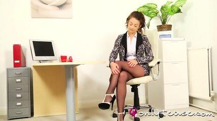 Nice Girl With Sexy Pantyhose - scene 2