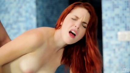 In The Bath With Hot Redhead - scene 11