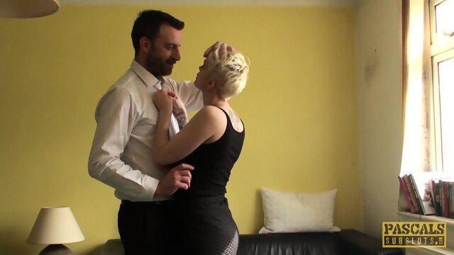 PASCALSSUBSLUTS – Busty Short Haired UK Sub Anal Fucked Hard