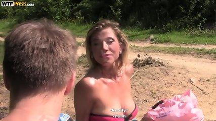 Having Sex In The Forest - scene 3