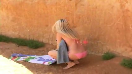 Angel Beach Masturbation - scene 3