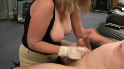 Great Handjob with BigTit Action - scene 2