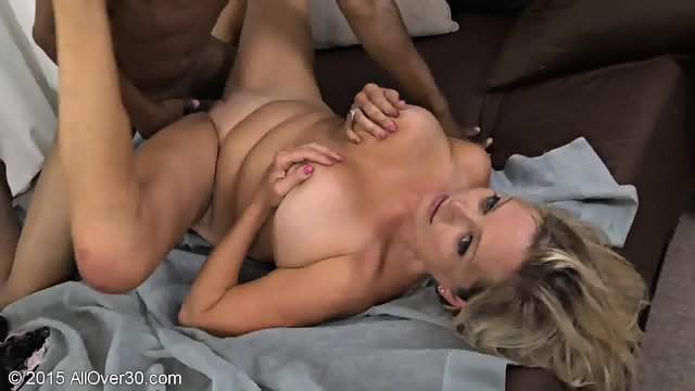 Mature Blonde Tries Black Dick
