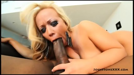 Busty Blonde Rides Black Dong - scene 3