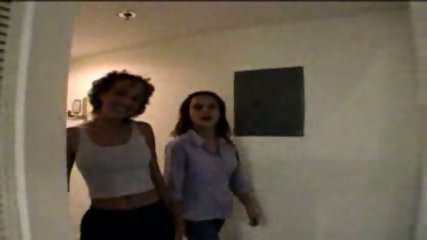 Two horny Girls getting ready - scene 1