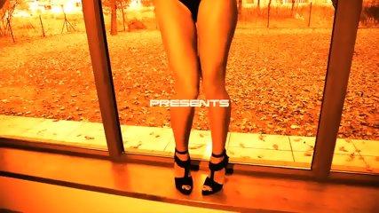 Nice Tits Of Sexy Brunette - scene 1