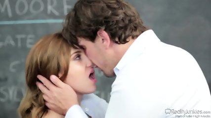 Romance With Horny Schoolgirl - scene 3